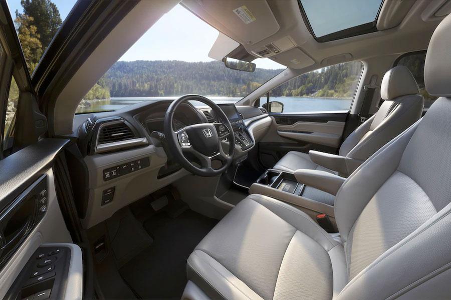 Honda Odyssey cargo area