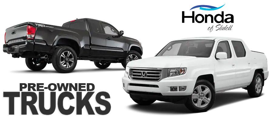 Used Truck Center - Honda of Slidell