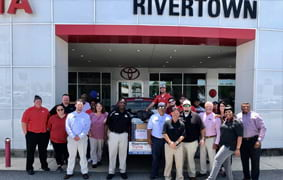 Rivertown Toyota supports Soles4Souls