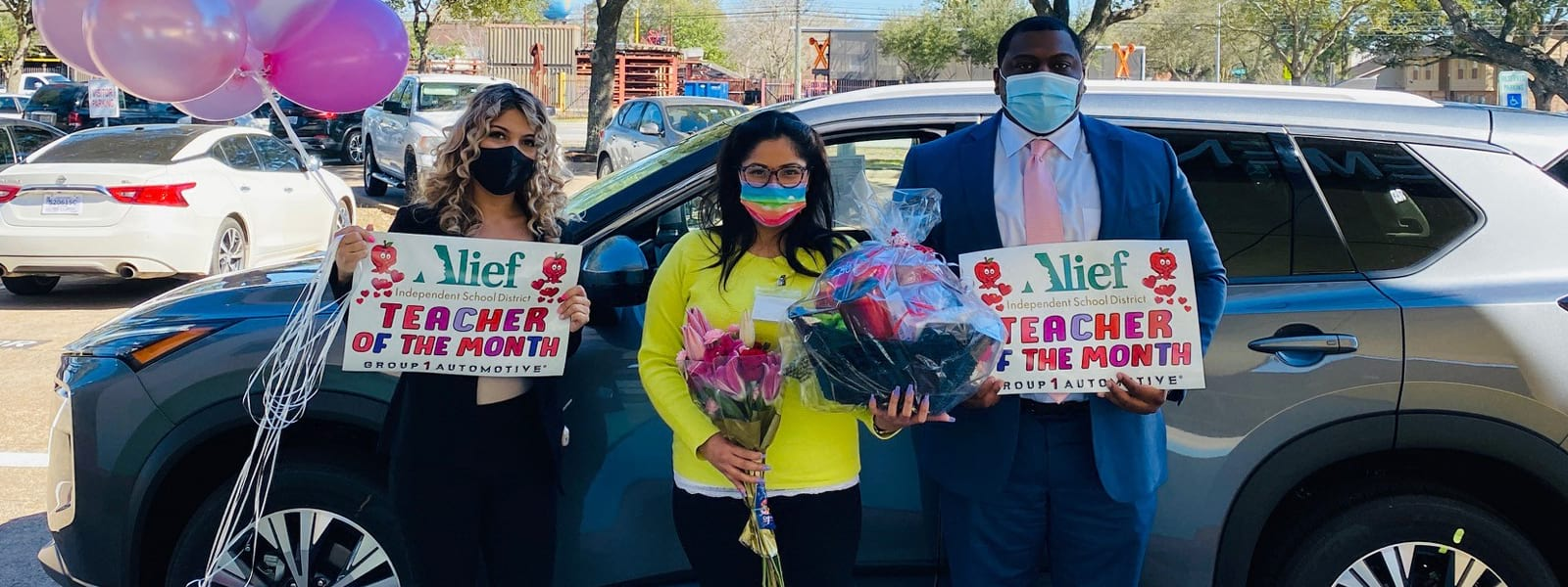 Alief ISD Teacher Honored by Sterling McCall VIP Services and Sterling McCall Nissan