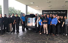 Mercedes-Benz of Clear Lake Food and Blood Drives