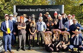 Group 1 UK Celebrates World Mental Health Day with Hats on 4 Ben