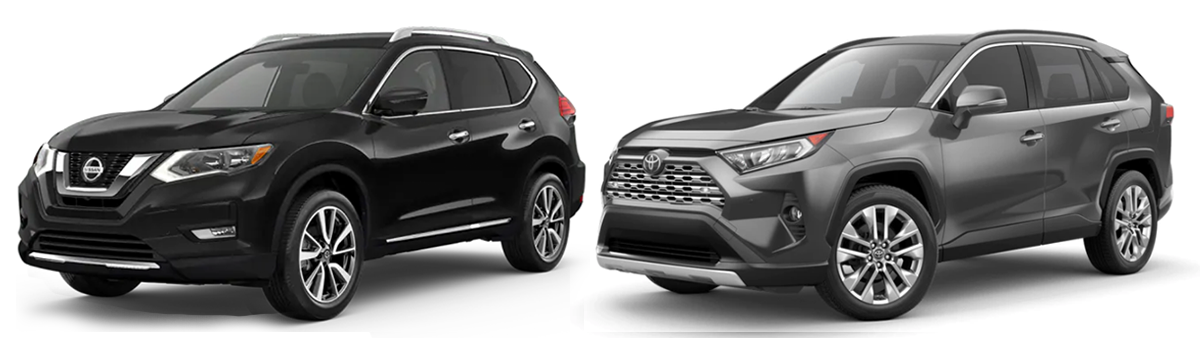 nissan rogue vs toyota rav4 comparison