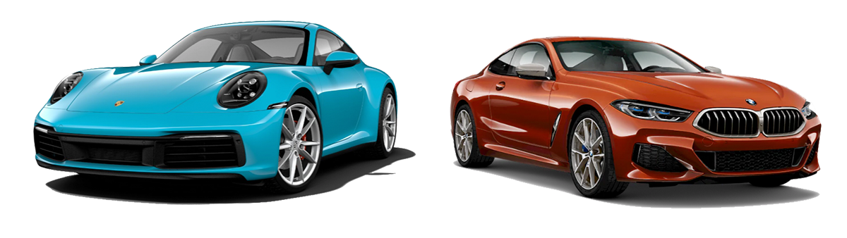 porsche 911 carrera 4 vs bmw m850i xdrive 2019 comparison - porsche el paso