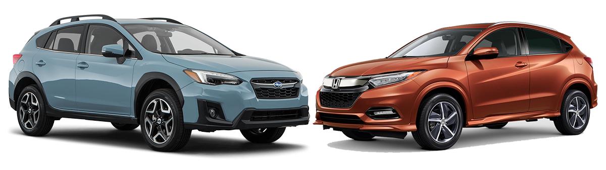 2019 Subaru Crosstrek Limited Vs Honda Hr V Ex L