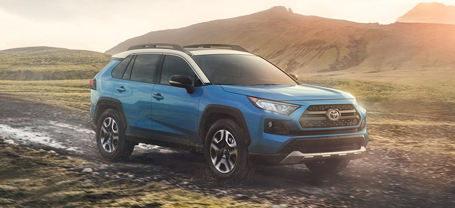 toyota rav4 le xle adventure 2019 trims features specs cost